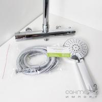 Душевая стойка KFA Armatura Luna 5716-910-00 с термостатическим смесителем Classic