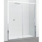 Душевая дверь Novellini Zephyros ZEPHYR2P1361K профиль хром, стекло прозрачное
