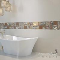 Настенная плитка, декор 30Х90 Grespania Lord Club Blanco (белая)