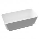 Ванна из литого мрамора с белым пьедесталом Marmorin Balta 721 160 020