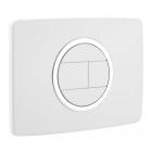 Панель смыва Nicoll-SAS 0709315-411 белый/хром
