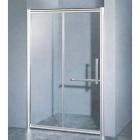 Душевая дверь Golston G-S8009 профиль сатин, стекло прозрачное