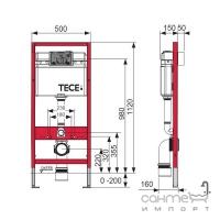 Унитаз подвесной безободковый Villeroy&Boch Joyce 5607R201 с крышкой soft-close + инсталляция TECE