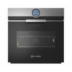 Электрический духовой шкаф Smalvic Touch FI-60MT HTST INOX 1016897500 нерж сталь, чёрное стекло
