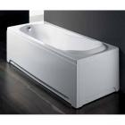 Прямоугольная гидромассажная ванна с пневм. системой управления, сливом переливом Glass Lis 170x75 (уценка)