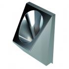 Подвесной антивандальный писсуар Purus V345 нержавеющая сталь
