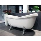 Акриловая ванна Appollo TS-1705 на львиных лапах хром