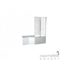 Асимметричная ванна Besco PMD Piramida Integra 170x75 белая, левая
