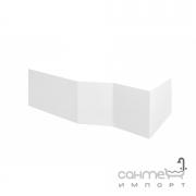 Передняя+боковая панели к ванне Integra 170 Besco PMD Piramida белая, левая