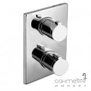 Смеситель-темостат скрытого монтажа для ванны Imprese Centrum VRB-10400Z хром