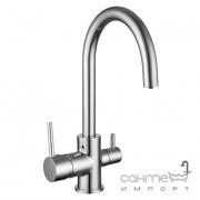 Смеситель для кухни с изливом для фильтрованной воды Imprese Daicy-U 55009-U хром