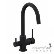 Смеситель для кухни с изливом для фильтрованной воды Imprese Daicy-U 55009-UB черный