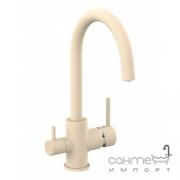 Смеситель для кухни с изливом для фильтрованной воды Imprese Daicy-U 55009-UG  песок