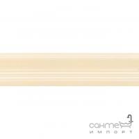 Плитка настенная бордюр Kerama Marazzi Традиция Багет беж глянцевый 20х5 BLB007